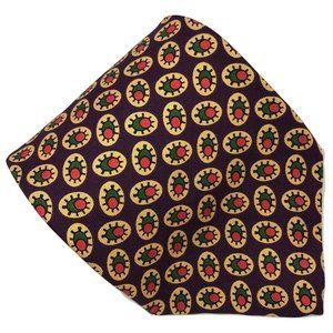 J Crew Mens Necktie Multi-Color Abstract 59 x 3.5